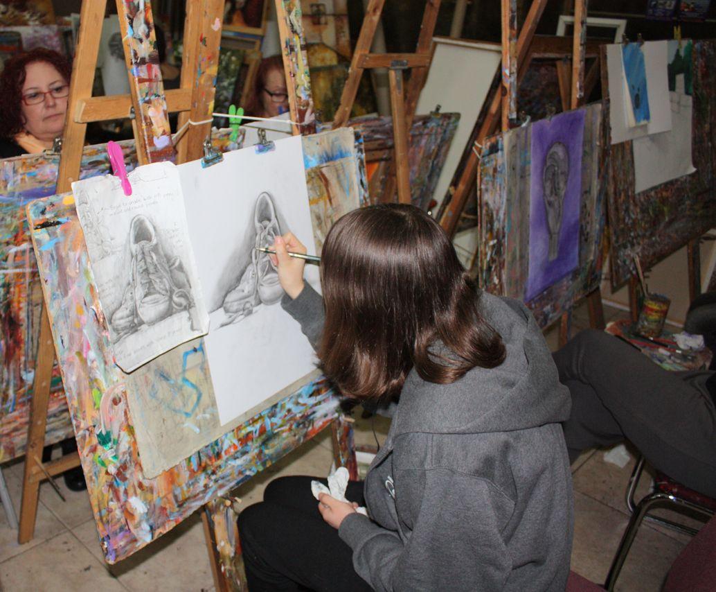 לימוד ציור בשלבים